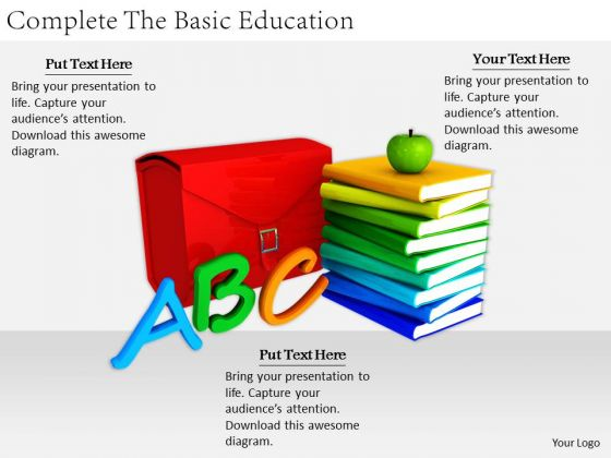 Stock Photo Business Strategy Formulation Complete The Basic Education Stock Photo Icons