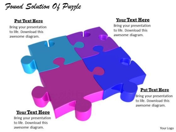 Stock Photo Business Strategy Formulation Found Solution Of Puzzle Pictures Images