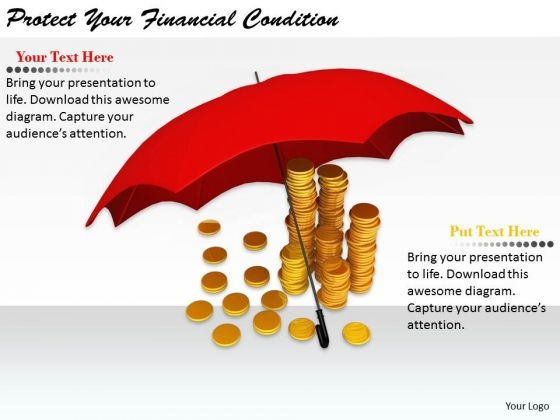 Stock Photo Business Strategy Implementation Protect Your Financial Condition Photos