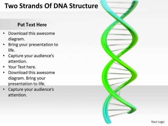 Stock Photo Business Strategy Implementation Two Strands Of Dna Structure Photos