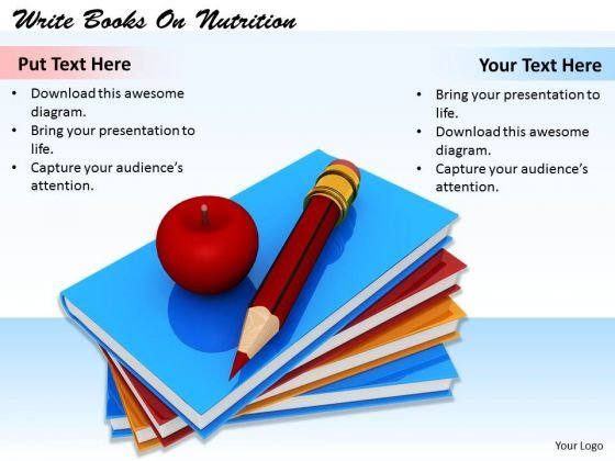 Stock Photo Business Strategy Implementation Write Books Nutrition Stock Photo Clipart Images