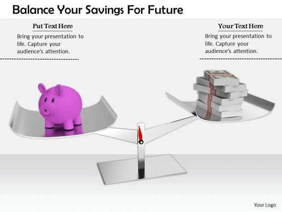 Stock Photo Business Strategy Innovation Balance Your Savings For Future Stock Photos