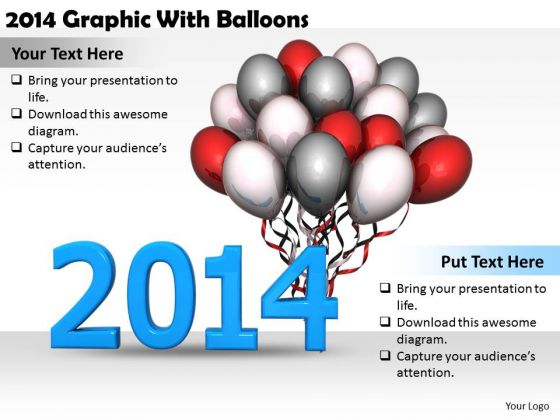 Stock Photo Business Strategy Model 2014 Graphic With Balloons Pictures