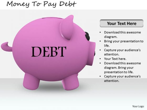 Stock Photo Business Strategy Model Money To Pay Debt Images Photos
