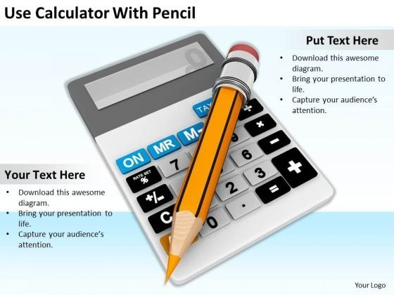 Stock Photo Business Strategy Model Use Calculator With Pencil Photos