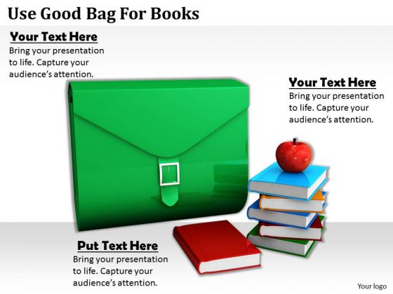 Stock Photo Business Strategy Model Use Good Bag For Books Photos