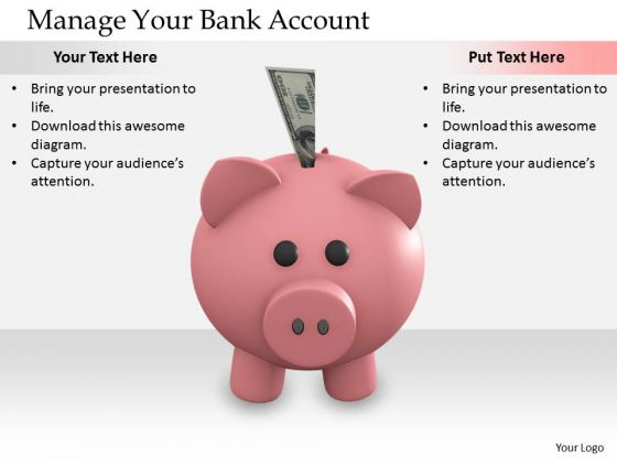 Stock Photo Business Strategy Plan Manage Your Bank Account Images Photos