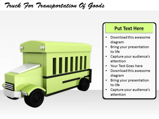 Stock Photo Business Strategy Plan Template Truck For Transportation Of Goods Images