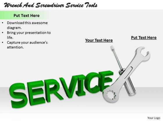 Stock Photo Business Strategy Wrench And Screwdriver Service Tools Clipart