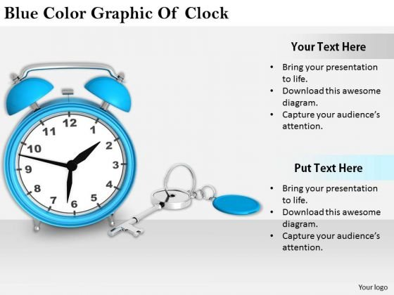 Stock Photo Business Unit Strategy Blue Color Graphic Of Clock Stock Photo Success Images