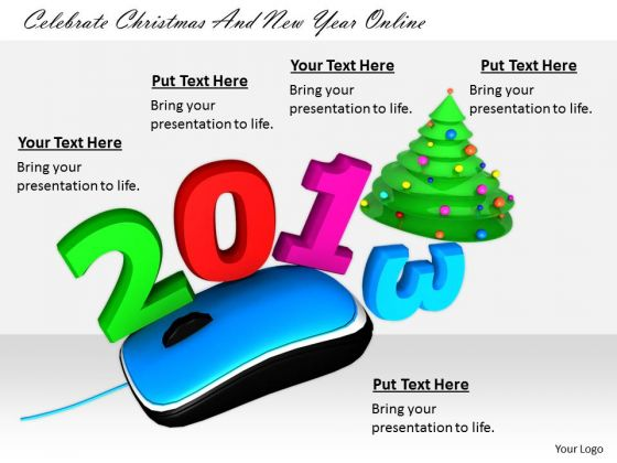 Stock Photo Business Unit Strategy Celebrate Christmas And New Year Online Pictures Images