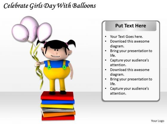 Stock Photo Business Unit Strategy Celebrate Girls Day With Balloons Images And Graphics