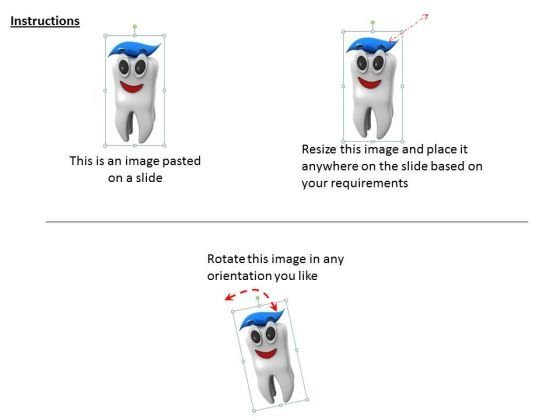 stock_photo_clean_tooth_with_toothpaste_ppt_template_2