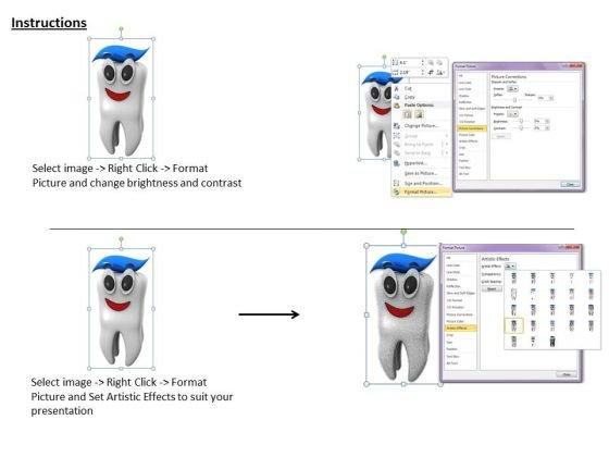 stock_photo_clean_tooth_with_toothpaste_ppt_template_3