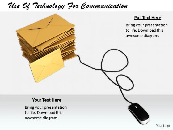 Stock Photo Company Business Strategy Use Of Technology For Communication