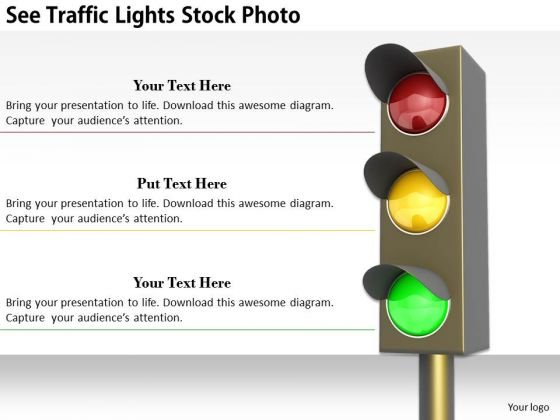 Stock Photo Creative Marketing Concepts See Traffic Lights Stock Photo Business Pictures Images