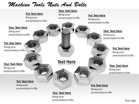 Stock Photo Develop Business Strategy Machine Tools Nuts And Bolts Pictures