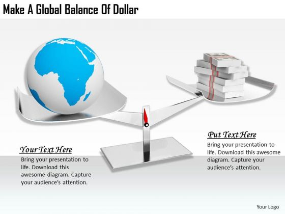 Stock Photo Developing Business Strategy Make Global Balance Of Dollar Images