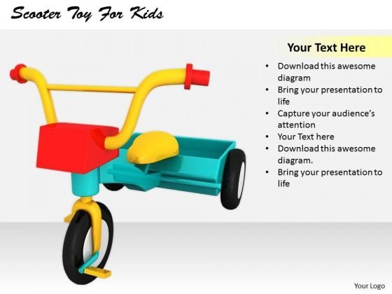 Stock Photo Developing Business Strategy Scooter Toy For Kids Clipart