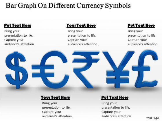 Stock Photo Different Currency Symbols Powerpoint Slide Powerpoint