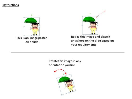 stock_photo_girl_holding_green_umbrella_pwerpoint_slide_2