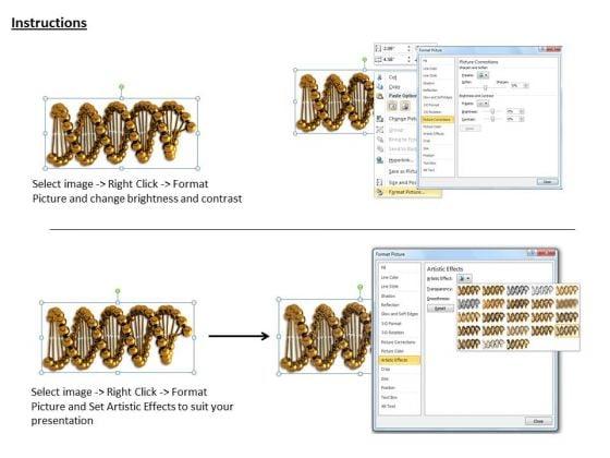 stock_photo_golden_dna_strand_medical_illustration_powerpoint_slide_3