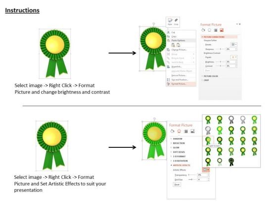stock_photo_green_and_gold_medal_for_winners_powerpoint_slide_3