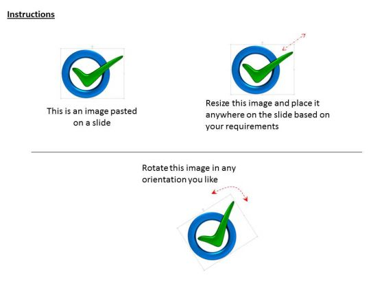 stock_photo_green_check_mark_inside_the_blue_circle_powerpoint_slide_2