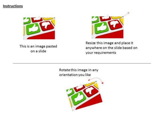 stock_photo_green_like_and_red_dislike_sign_powerpoint_slide_2
