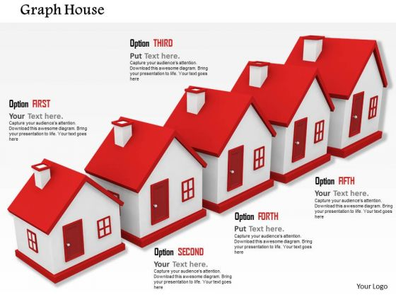 Stock Photo Growth In Real Estate Conceptual Image PowerPoint Slide