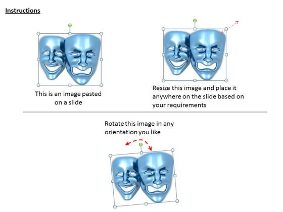 stock_photo_happy_angry_emotions_mask_powerpoint_slide_2