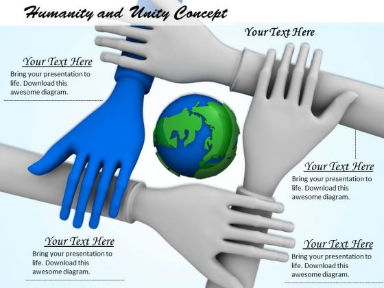 Stock Photo Humanity And Unity Conceptual Image PowerPoint Slide