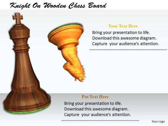 Stock Photo Illustration Of Check Mate PowerPoint Slide