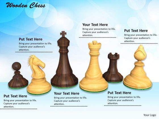Stock Photo Illustration Of Chess Pieces Strategy Concept PowerPoint Slide