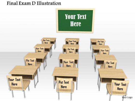 Stock Photo Illustration Of Examination Room PowerPoint Slide