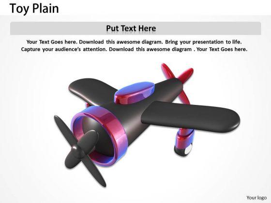 Stock Photo Illustration Of Toy Plain Pwerpoint Slide