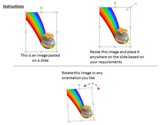 stock_photo_image_of_rainbow_with_money_pot_powerpoint_slide_2