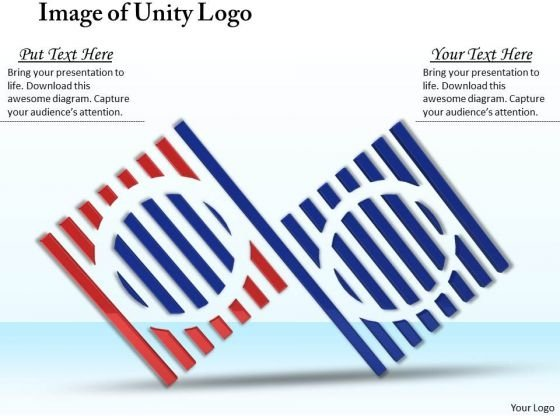Stock Photo Image Of Unity Logo PowerPoint Template