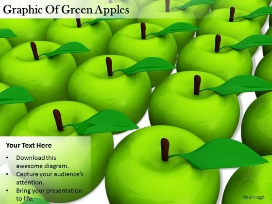 Stock Photo Innovative Marketing Concepts Graphic Of Green Apples Business Images Photos