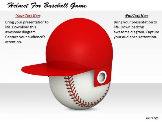 Stock Photo Innovative Marketing Concepts Helmet For Baseball Game Business Icons Images