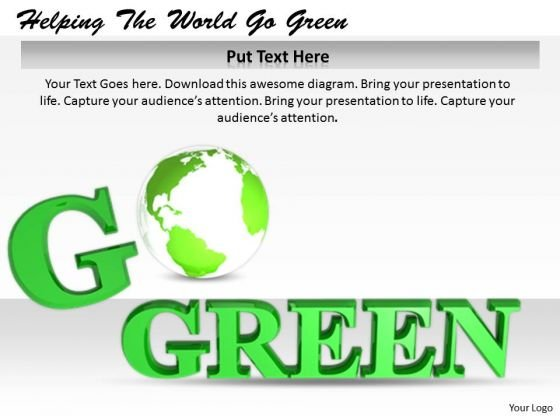 Stock Photo Innovative Marketing Concepts Helping The World Go Green Business Icons Images