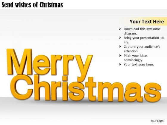 Stock Photo Innovative Marketing Concepts Send Wishes Of Christmas Business Clipart