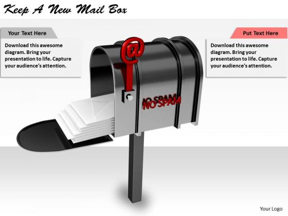 Stock Photo International Marketing Concepts Keep New Mail Box Business Icons