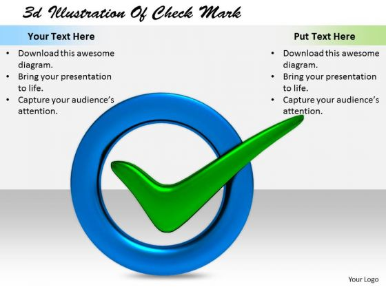 Stock Photo Internet Business Strategy 3d Illustration Of Check Mark Pictures