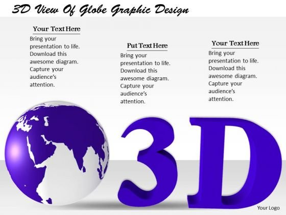 Stock Photo Internet Business Strategy 3d View Of Globe Graphic Design Pictures