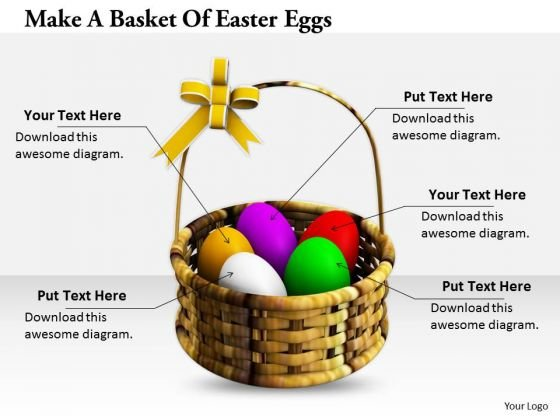Stock Photo Internet Business Strategy Make Basket Of Easter Eggs Images And Graphics