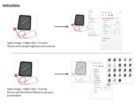 stock_photo_ipad_with_stethoscope_pen_technology_powerpoint_slide_3