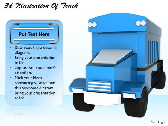 Stock Photo Marketing Concepts 3d Illustration Of Truck Business Icons Images