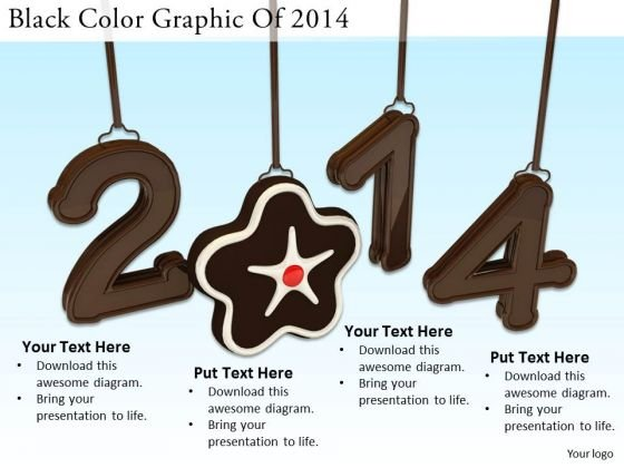 Stock Photo Marketing Concepts Black Color Graphic Of 2014 Business Image