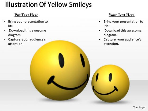 Stock Photo Marketing Concepts Illustration Of Yellow Smileys Business Pictures